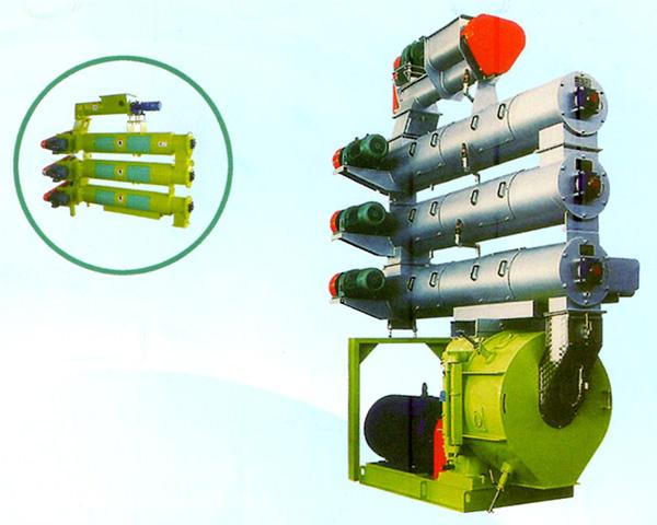 SZLH508高档水产型环模制粒机