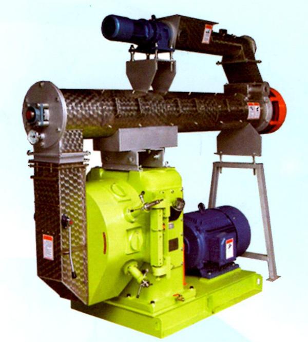 SZLH400420高档畜禽型环模制粒机